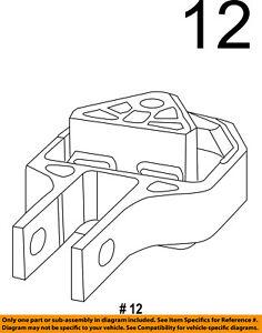 dodge chrysler oem 13 15 dart engine motor mount torque strut rh ebay com GM 3.5 V6 Engine Diagram Mitsubishi 3.0 V6 Engine Diagram