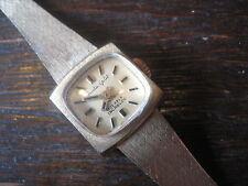 Golduhr Damenuhr Uhr Ambanduhr DAU 585er Gold 21 Gramm Incabloc Handaufzug