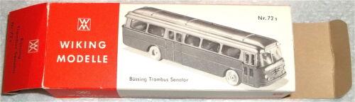 72s Büssing Trambus Senator Wiking Karton leer  #    å *