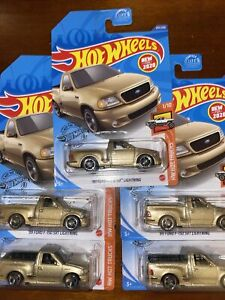 New 2020 Hot Wheels '99 Ford F-150 SVT Lightning Lot Of 5 ...