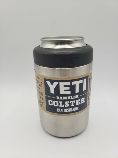 Yeti Rambler Colster Coozie Can Insulator Stainless Steel 12oz
