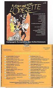 IL-ETAIT-UNE-FOIS-L-039-OPERETTE-CD-ALBUM-compagnie-europeenne-des-collectionneurs