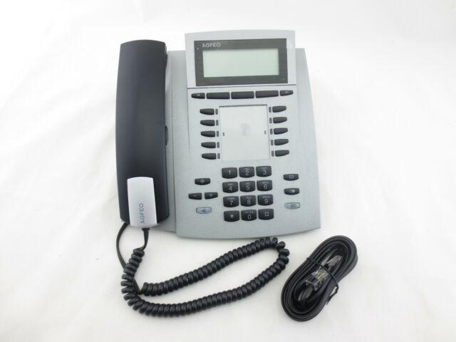Agfeo ST 42 Systemtelefon S0//UP0 schwarz mit Rechnung 19/% MwSt ausgewiesen