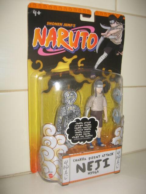 2006 Shonen Jumps NARUTO *Chakra Point Attack NEJI Hyuga* Brand New