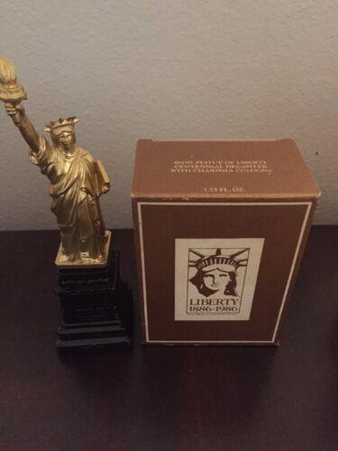 Vintage empty Avon Statue of Liberty Cologne bottle