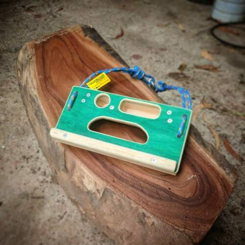 Climbing Training Awesome Woodys Cliff Board Petite Pocket Wooden Hangboard