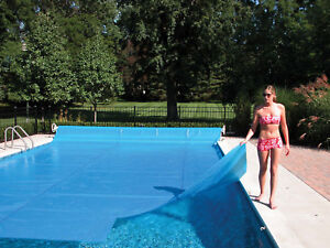 Details about Sun2Solar Blue Swimming Pool Solar Blanket Covers - 800  Series w/ Grommets