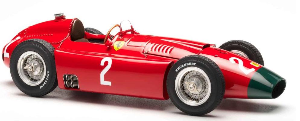CMC Exclusive Modelle échelle 1 18 Ferrari D50 long nez GP Allemagne Numéro 2