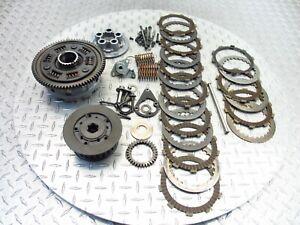 2000 00-03 Suzuki GSXR 750 GSXR750 Inner Outer Clutch Basket Plate Disc OEM
