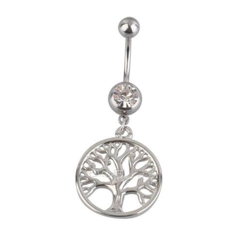 Handcrafted Tree of Life Dreamcatcher Belly Ring Navel Ring Body Piercing  E0Xc