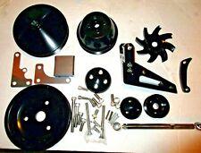 March Serpentine Bracket Pulley Kit Chevy Sbc 350 327 Alternator Crank Nice 400