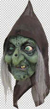 Old Hag Witch Full Head Latex Mask Halloween Fancy Dress Adult
