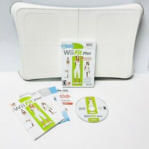 Nintendo Wii Fit Plus - Game - Balance Board - Manuals - Clean TESTED Working