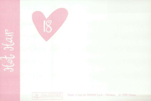 """Fashion Collectible Photo Card Mattel /"""" Healthy Hair /"""" Barbie Doll Postcard"""