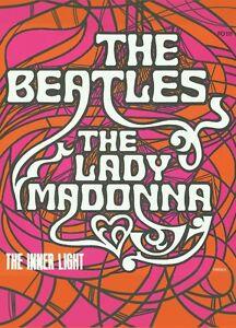 Beatles-Lady-Madonna-The-Inner-Light-fridge-magnet-hb-REDUCED
