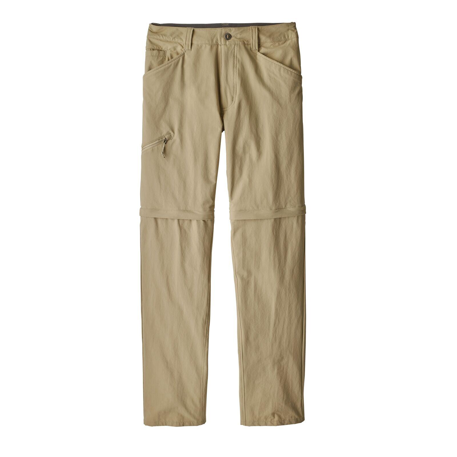 Patagonia Uomo ZipOffHose Queary Pantaloni da Trekre