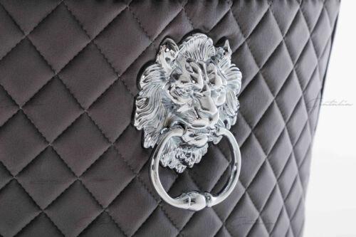 Dark Grey Velvet Lion Knocker Dining 2,4,6,8, Chairs