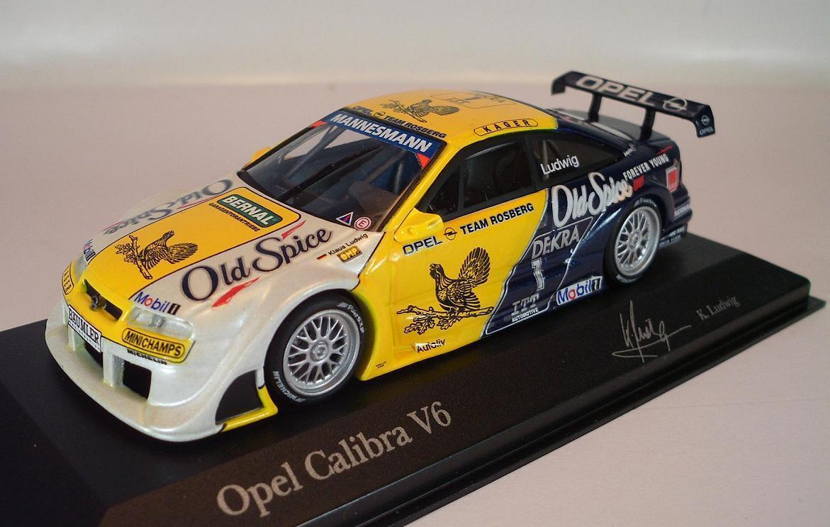 Minichamps PMA 1 43 430954271 Opel Calibra ITC 95 Team Rosberg Ludwig OVP