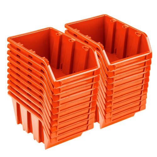 show original title Details about  /20x Vision Lagerbox sortierbox Lagerbox Stacking Orange NP4 bearing system