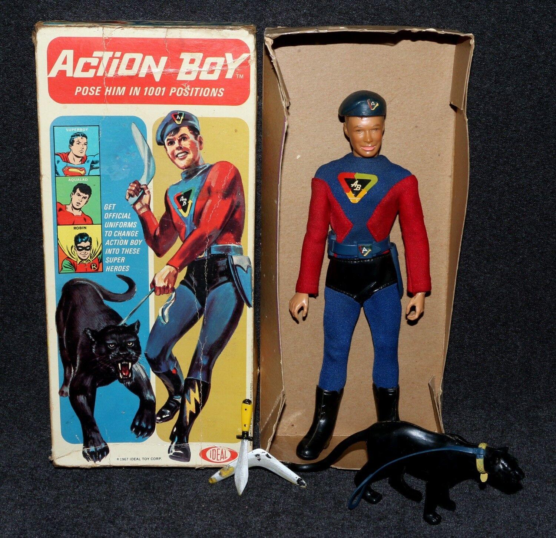 Captain Action Ideal 1967 Boxed ACTION BOY All Original C7/C8