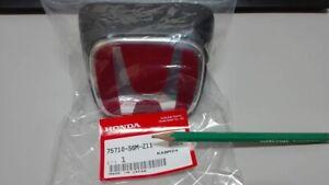 Honda-Integra-DC5-Type-R-Front-Red-H-Emblem-Acura-NEW-JDM-Genuine-Import-Japan