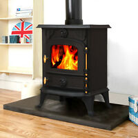 Saxilby 6.5kw Cast Iron Wood Log Burner Multifuel Woodburning Stove Woodburner