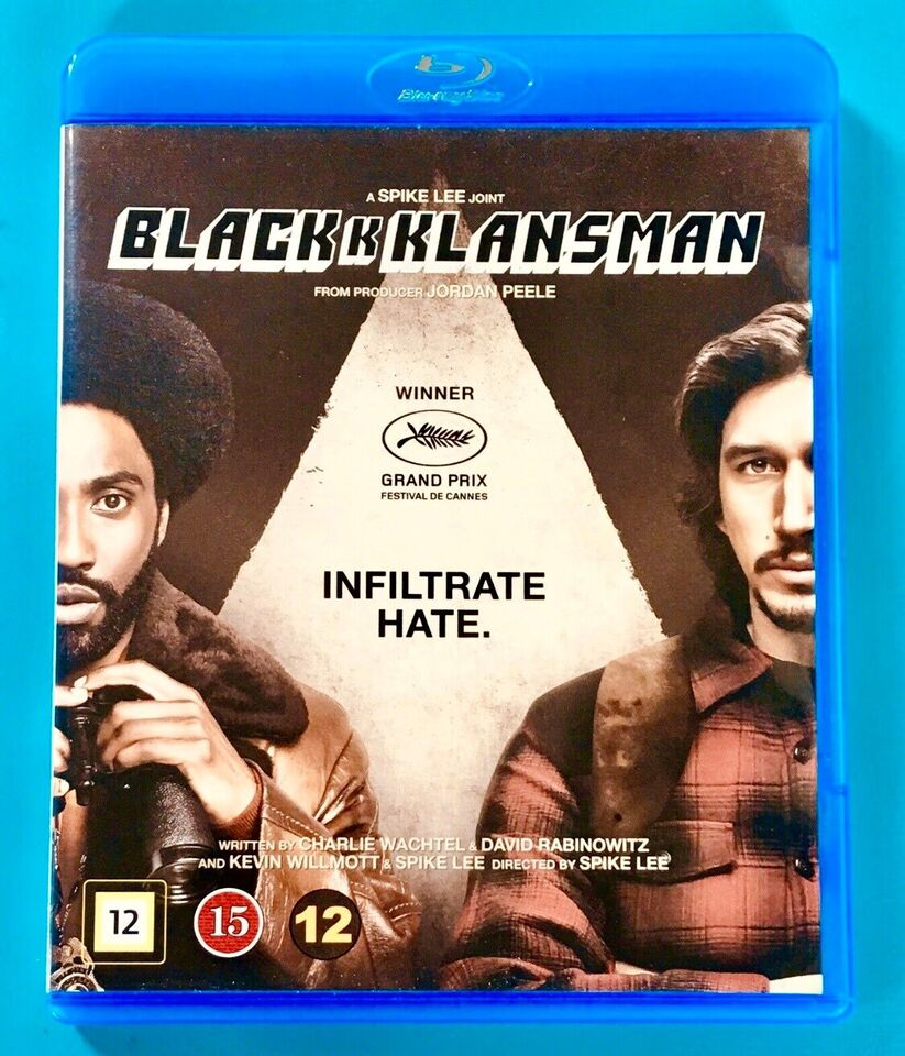 BlacKkKlansman, Blu-ray, drama