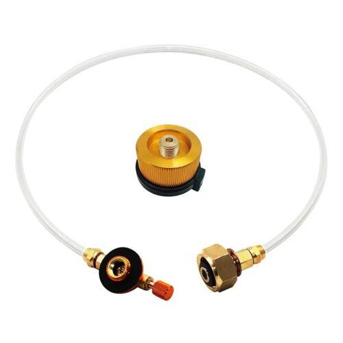 Outdoor Camping Gas Stove Propane Refill Adapter Tank Coupler Adaptor Gas Tool