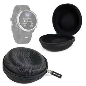 Protective-Case-in-Classic-Black-for-2015-Garmin-Forerunner-25-645-Smartwatch