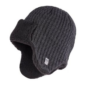 Image is loading Men-039-s-winter-hat-with-ear-flaps 5d395d08b86f