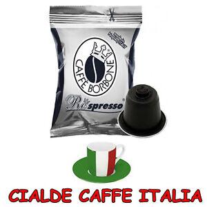 150-Capsule-Caffe-Borbone-Miscela-Nera-Nere-Compatibili-Nespresso