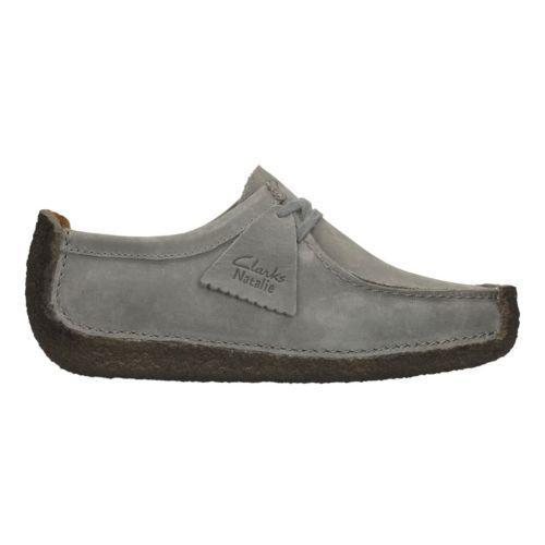 4 Nubuck Uk Ladies Originals Shoes Clarks Natalie Casual Grey Leather 3 wqIvAOZ