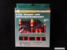 Brüder Mannesmann M10610 Tenazas- y Set de destornilladores 5 piezas,VDE probado