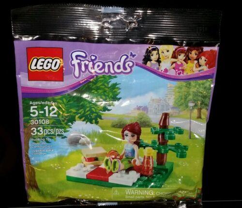 30108 New LEGO Friends polybag Mia Summer Picnic scene - 33 pcs nib sealed