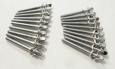 """20 NEW MAPEX 45mm DRUM TENSION RODS w// Metal Washers 2 1//8/"""" Long Tom//Snare//45"""