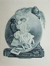 Franz von Bayros Heliogravure Erotik Nackt Nude