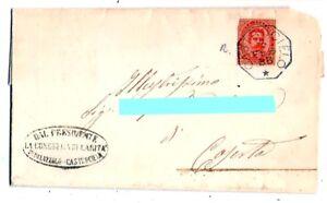 Storia-Postale-Annullo-Collettoria-Castrocielo-per-Caserta-1886