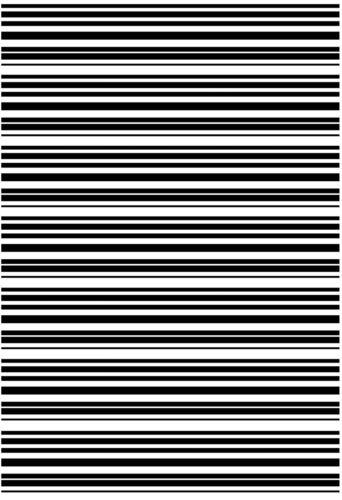 "Stripe Striped Stripes  5/"" X 3-1//2/"" Card Black Fused Glass Decals 16CC761"
