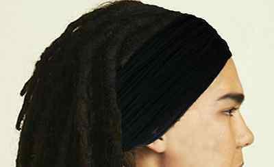 Mens Guys Headband Dreadband Dreadlock Headband Men Hair Accessories Head Scarf