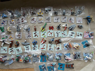 NEW LEGO STAR WARS MINIFIGS MINI-SETS SHIPS WEAPONS 9509 2012 RARE PICK 1 U WANT