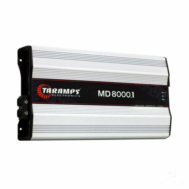 Taramps Md8000 R MD 8000.1 HD 8000 Watts Car Amp 2 Ohms Amplifier USA - $491.00