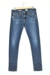Adriano-Goldschmied-Jeans-AG-The-Nikki-Relaxed-Skinny-Medium-Wash-Blue-Size-26-R