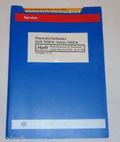 Werkstatthandbuch VW Golf III 3 / Vento Eigendiagnose Automatisches Getriebe 01M