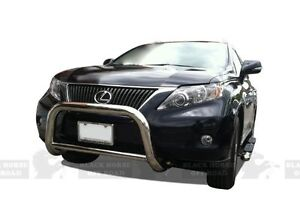 Fits 10 14 Lexus Rx350 Rx450h Stainless Bull Bar By Black