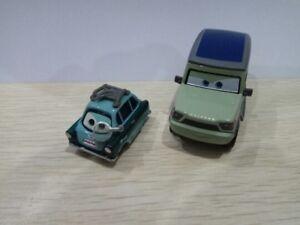 Disney-Pixar-Cars-Miles-Axlerod-Dieca-amp-Professor-Z-With-Toy-Model-Toy-1-55-New