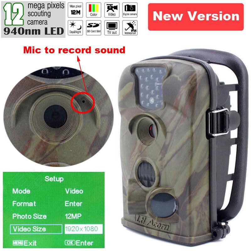 HD Cámara De Caza 1080P LTL bellota LTL-5210A Trail Juego Granja Scouting Cam Sonido