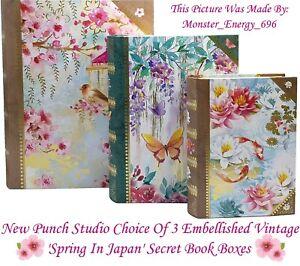 Punch-Studio-Spring-Secret-Jewellery-Trinket-Keepsake-Storage-Gift-Book-Boxes