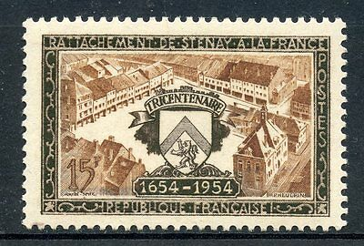 Rattachement De Stenay Neuf Charnière Unequal In Performance Stamp Timbre De France Neuf N° 987