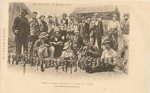 Carte Postale Afrique Du Sud.Details Sur Carte Postale Afrique Du Sud La Guerre Du Transvaal Boers Faisant Secher Viande
