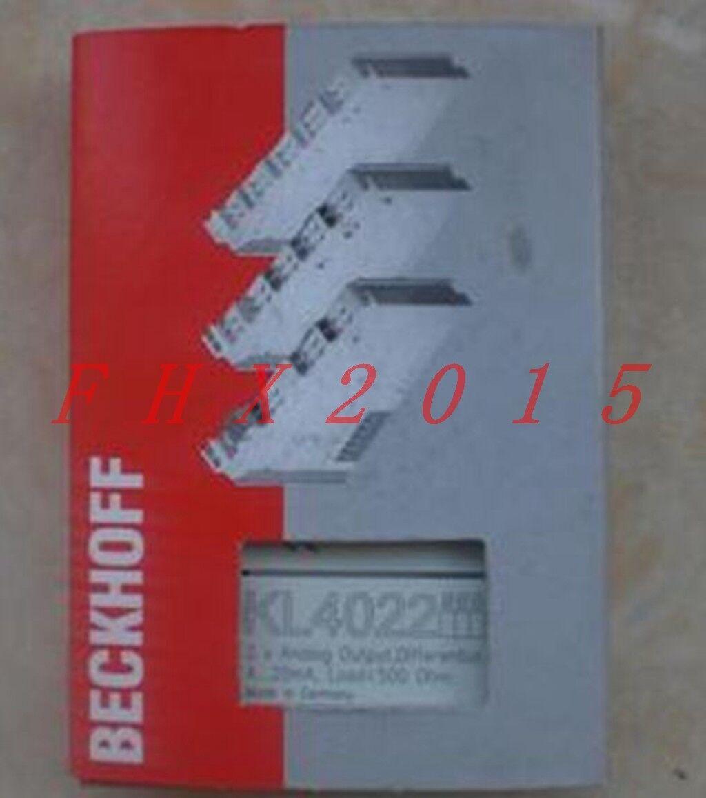 BECKHOFF KL4022 Analog Output Module